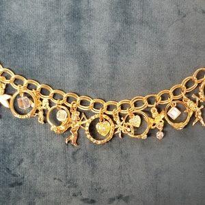 Kirks Folly  Secrets of the Seven Angels Goldtone